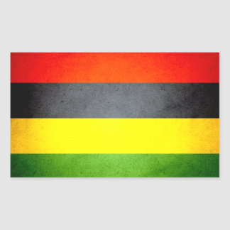 Sun kissed Mauritius Flag Sticker