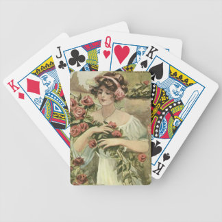 Sun Kissed Roses playing cards