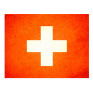 Sun kissed Switzerland Flag Post Cards