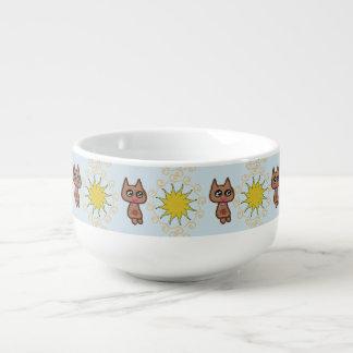 Sun Kitty Cat Soup Mug