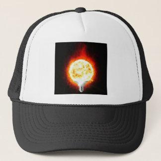 Sun Lightbulb Trucker Hat