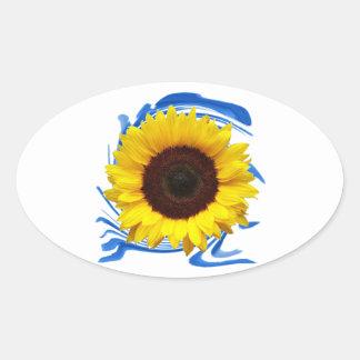 Sun-lights Grace Oval Sticker