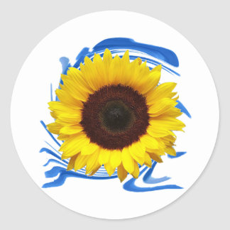 Sun-lights Grace Round Sticker