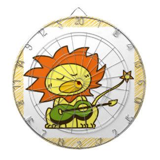 Sun lion dartboard