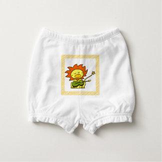 Sun lion diaper cover