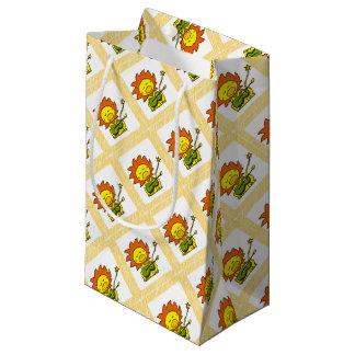 Sun lion small gift bag