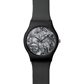 SUN MOON AND STARS WRISTWATCH