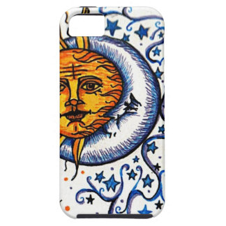 SUN MOON ART DESIGN CASE FOR THE iPhone 5