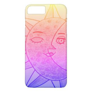 """Sun, Moon"" i-Phone case"