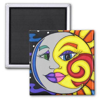 Sun & Moon Magnet