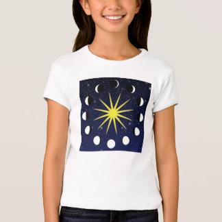 Sun, Moon Phases & Stars T-Shirt