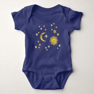 Sun, Moon & Stars Baby Bodysuit