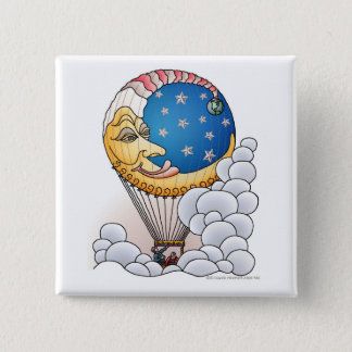 Sun Moon Stars Moon Balloon Aircraft Pins
