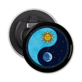 Sun Moon Yin Yang Symbol Bottle Opener