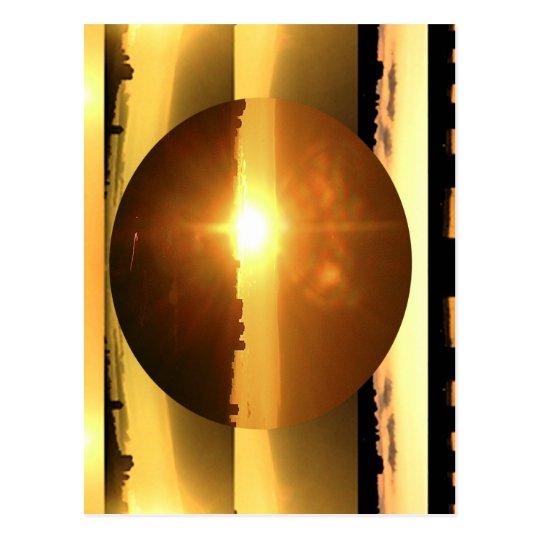 SUN n MOON Artistic Presentation Postcard