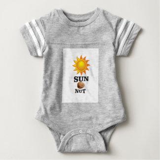 sun nut yeah baby bodysuit