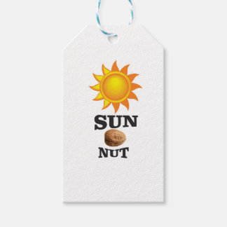 sun nut yeah gift tags