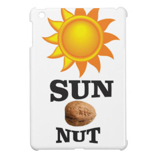 sun nut yeah iPad mini cases