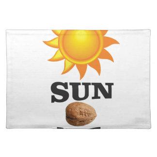 sun nut yeah placemat
