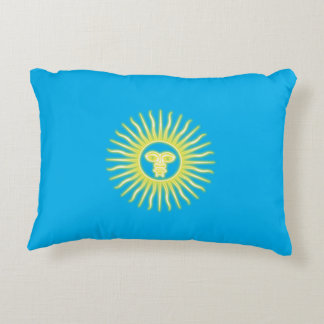 Sun of May Accent Pillow