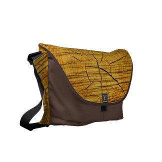 Sun of Wood Courier Bags