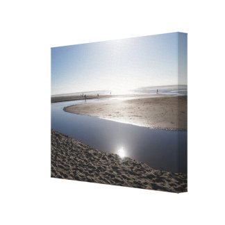 Sun on the Oregon Coast Canvas Print
