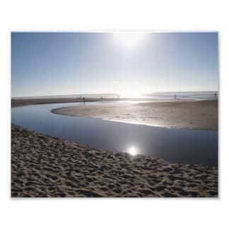 Sun on the Oregon Coast Photo Print
