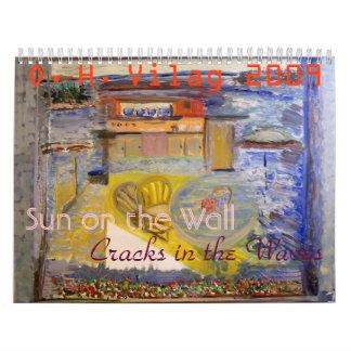 Sun on the Wall, Sun on the Wall, Cracks in the... Wall Calendars