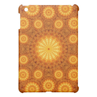 Sun Orbs Mandala iPad Mini Case