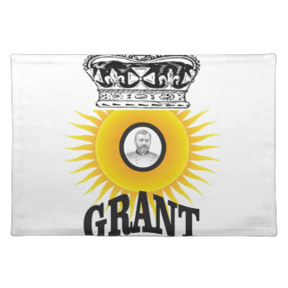 sun oval king grant placemat