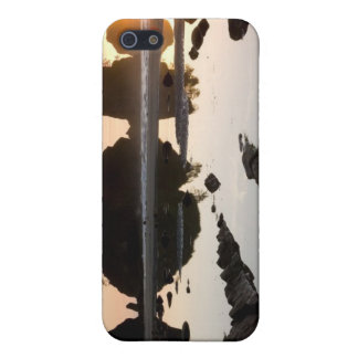 Sun Over Small Hillocks Cover For iPhone 5