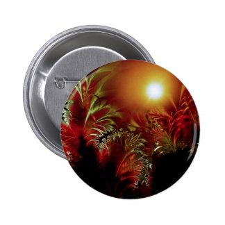 Sun Peace Pinback Button