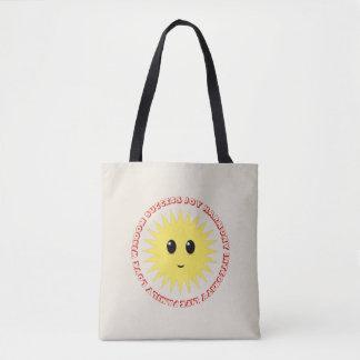Sun Positive Vibes Tote Bag