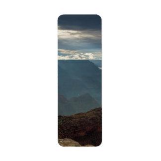 Sun Rays at Hopi Point Grand Canyon, Arizona Return Address Label