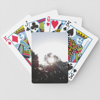 Sun Rays Bicycle Playing Cards