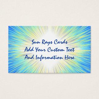 Sun Rays Business Cards