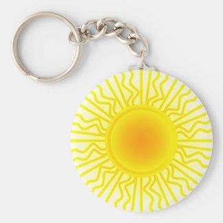 Sun Rays Keychain