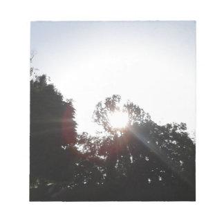 Sun Rays Notepad