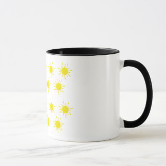 Sun  Ringer Combo Mug