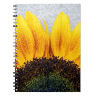 Sun rising notebook