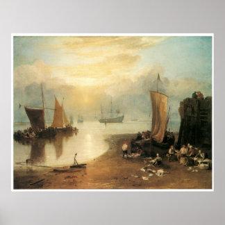 Sun rising through vapour, J. M. W. Turner Posters