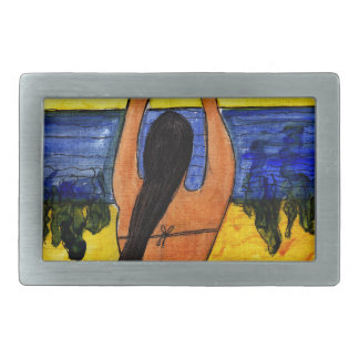 Sun Salutation Rectangular Belt Buckles
