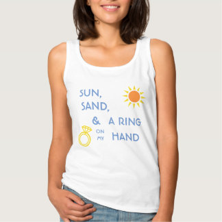Sun, Sand, & a Ring on my Hand Bridal Shirt