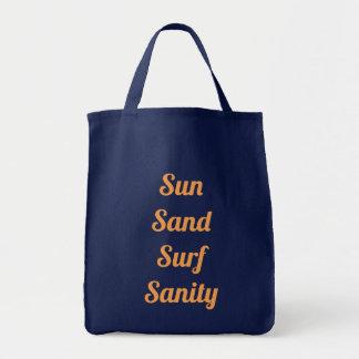 Sun Sand Surf Sanity Tote Bag