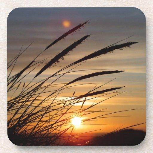 Sun Set Drink Coasters