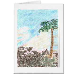 Sun Set in Paradise Greeting Card