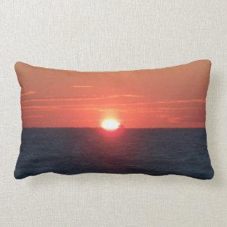 Sun set lumbar pillow