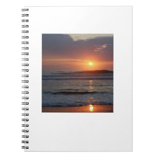 Sun Set Spiral Note Books