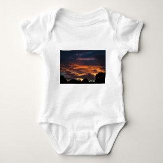 Sun set over Yorkshire Baby Bodysuit