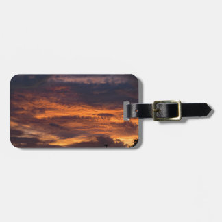 Sun set over Yorkshire Luggage Tag